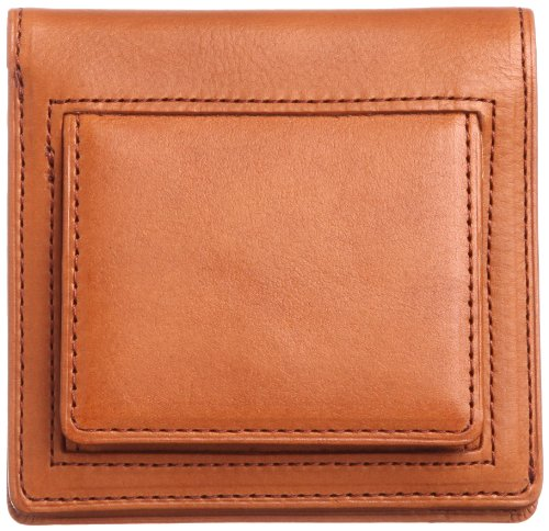 THINly Leather Bifold Wallet with Change Pocket SLBS03 Camel by THINly