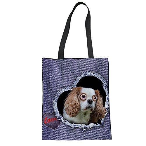 Beach Reusable Tote Canvas Women Tote Advocator for Shopping Bag Bag Pattern Tote 13 Bags Color Daily Handbag Teacher w0x7p6Yq