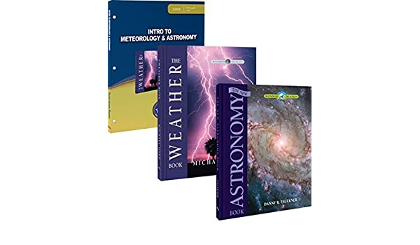 Intro to Meteorology & Astronomy Package: Master Books ...