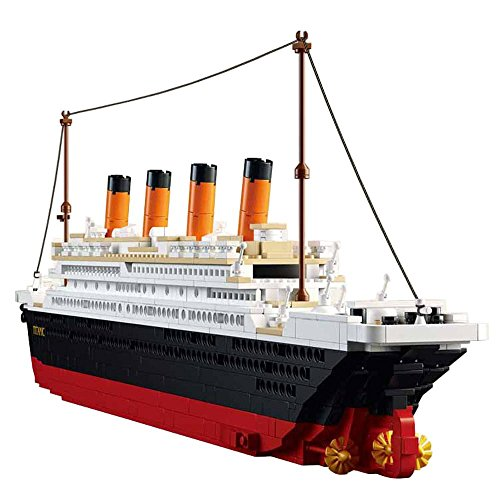 (SuSenGo Titanic Building Block Kit 1021 Pieces Bricks)