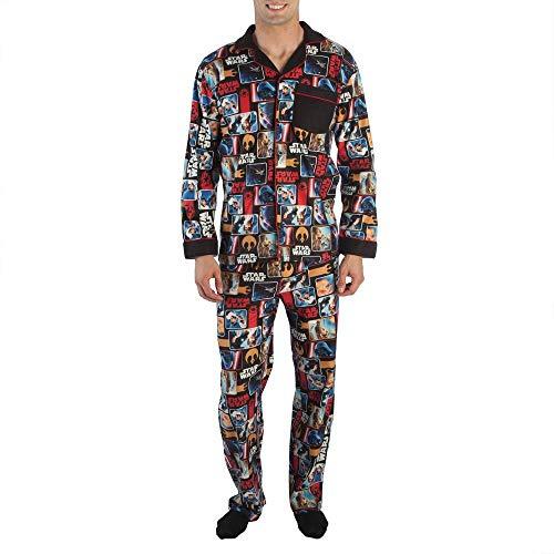 Classic Star Wars Sleepwear Pajama Set-Large Black -