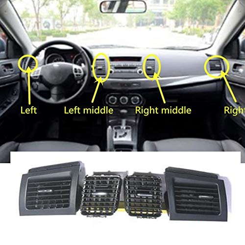- Fastener & Clip 1pcs Car Dashboard AC Air Conditioner Vent Outlet for Mitsubishi Lancer EX 2010-2015 - (Color Name: Right)