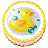 Yellow Duck Pop Top Cake Toppe