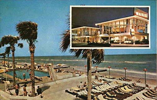 (The Fabulous New Waikiki Miami Beach, Florida Original Vintage Postcard)