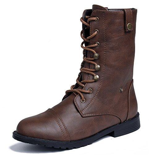Imperm AgeeMi Hiver Up Lace Shoes Femmes Veau Boots nn0PCxH