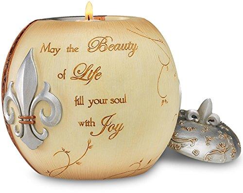 Pewter Holder Candle Vine (Pavilion - 5 Beauty of Life 4.25