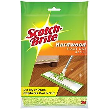 Amazon Com Scotch Brite Microfiber Hardwood Floor Mop