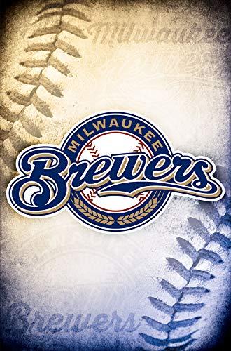 Trends International Milwaukee Brewers - Logo Wall Poster 22.375