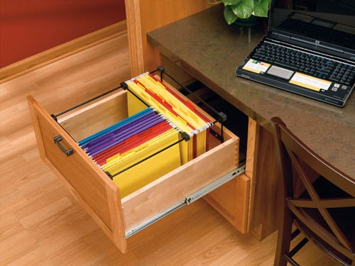 File System Insert for Drawers - RAS-SMFD-52 - 13''W x 19-1/4''D x 9-3/4''H - Black