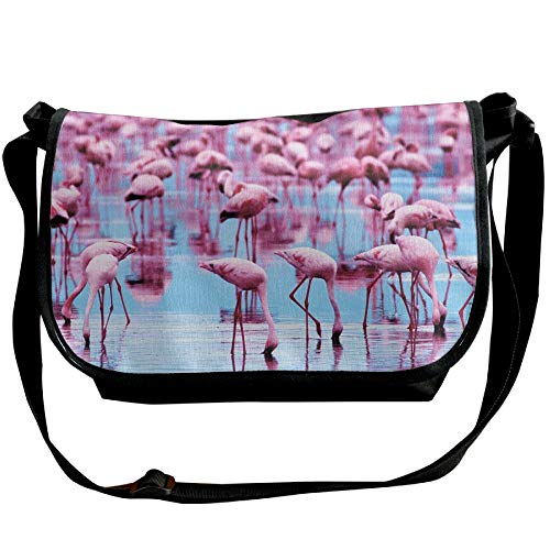 Cross Handbags Water Casual Bag Fashion Women's Flamingo Black Body Bags Sling Drink gqTxaOnt