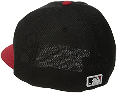 MLB Cincinnati Reds Batting Practice 59Fifty Baseball Cap, Black/Red