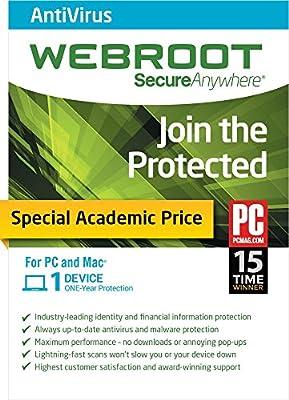 WEBROOT Academic Version [Download]