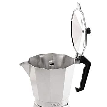 Oryx Cafetera Aluminio 6 Tazas, 300 ML: Amazon.es: Hogar