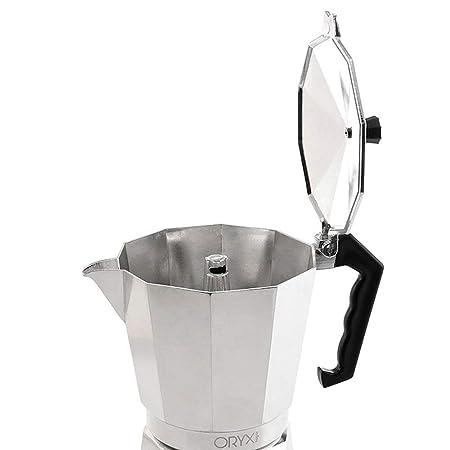 Oryx 5056010 Cafetera Aluminio 2 Tazas, 100 ML: Amazon.es: Hogar