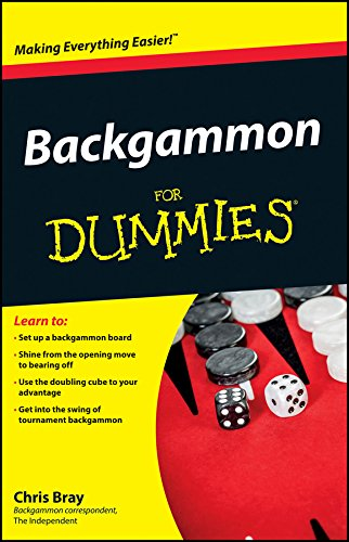 Backgammon For Dummies Kindle Edition By Chris Bray Humor
