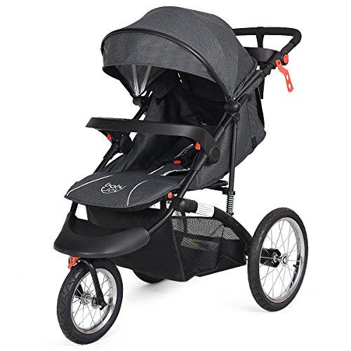 BabyJoy Jogger Stroller, Infant Travel Portable Jogging Stro