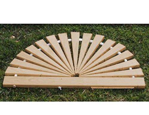 Sunburst Spacers - Furniture Barn USA Red Cedar Sunburst Door Mat - Small