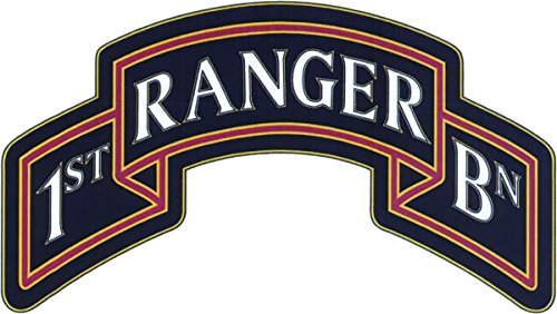 - 75th Ranger Regiment 1st Battalion CSIB - Combat Service Identification Badge