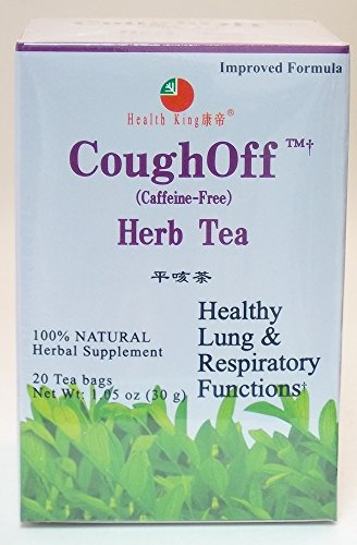 Cough Off Tea Health King 20 Tea (Cough Off Tea)