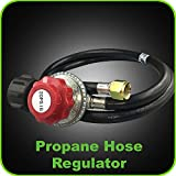 Propane Regulator Adjustable 4 Foot 0-20 PSI – Gas Grill replacement Hose for Fire Pit and LP Gas Grill – Outdoor and Indoor Cooking Review