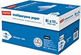 Staples Multipurpose Inkjet & Laser Paper, 8.5 X 11'', 5000 Sheets/Case Carton