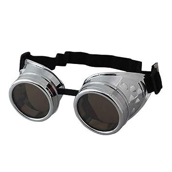 YLNJYJ Gafas De Sol Steampunk Gafas De Sol De Los ...