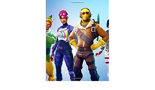 Fortnite - Skin Spin Notebook: College Ruled Writers ...