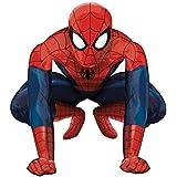 "Ballon aluminium Airwalker Deluxe Spider-Man ""Super-Forme"" - 91cm"