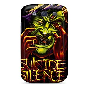 Special NikRun Skin Case Cover For Galaxy S3, Popular Suicide Silence Phone Case