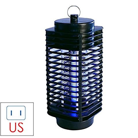 Qjoy Electric Mosquito Killer Moth Killing Insect LED Bug US/EU 220V Zapper Fly Lamp Trap Wasp Pest US (Moth Killing)