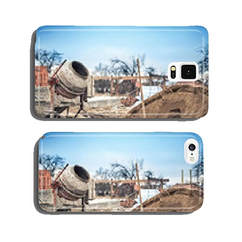 cement-mixer-machine-at-construction-site-tools-and-sand-cell-phone-cover-case-iphone6