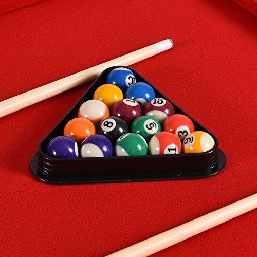 goplus mini pool table tabletop billiard game set w cues balls 48 and 36 red 48. Black Bedroom Furniture Sets. Home Design Ideas