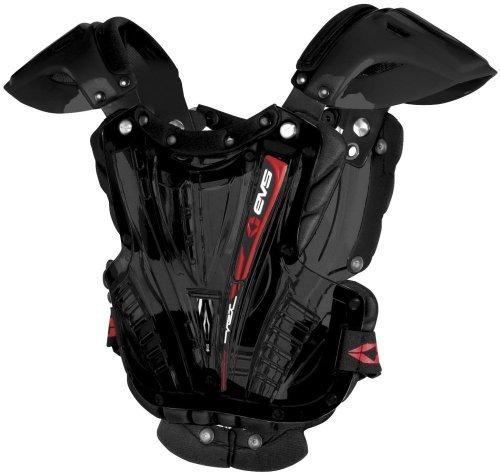 EVS Vex Chest Protector - Medium/Black/Black
