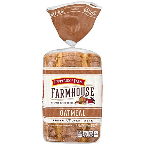 (Pepperidge Farm Farmhouse Oatmeal Bread, 24 oz. Bag)