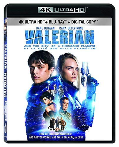 Valerian and the City of a Thousand Planets [4K Ultra HD + Blu-ray] (Valerian And The City Of A Thousand)
