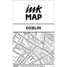 Dublin Inkmap - maps for eReaders, sightseeing, museums, going out, hotels (English)