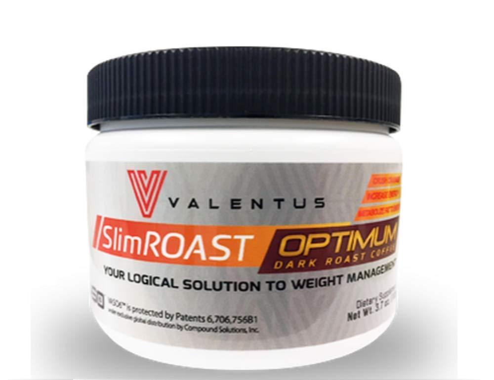 Método Valentus PLAN de 30 Días - CAFE Slim Roast Optimum de VALENTUS - Supresor del Apetito - Control y PERDIDA de PESO
