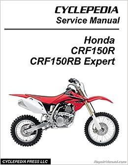 CPP-164-P Honda CRF150R CRF150RB Expert Cyclepedia Printed ...