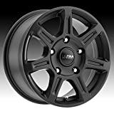 Ultra 450SB Toil Van 17x8 5x160 +50mm Satin Black Wheel Rim