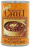 Amy's Organic Chili with Vegetables, Medium, Vegan, USDA Organic, 14.7-Ounce