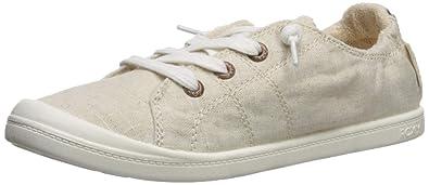 84ba4ad0f44d Roxy Women s Bayshore Shoe Sneaker tan Brown 5 Medium US