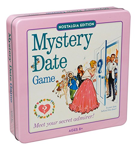 Mystery Date Classic Board Game With Nostalgic Tin Case ()