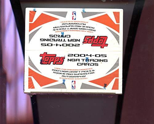 2004 Topps Nba Basketball - 2004-05 Topps Own The Game Set NBA Basketball Card 04-05 Wax Pack Box 2005