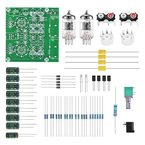 Tutmonda 6J2 Tablero de Amplificadores Tubo Amplificador Pre-Amp Módulo Mezclador Audio Válvula Montada Delantera Preamplificador Bilis Kits DIY: Amazon.es: ...