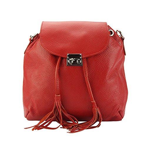 Bougainvillea Florence Market Multi Pelle 9119 Chiaro Vitello funzione In Leather Rosso Vera Di Zaino ttSrn6q
