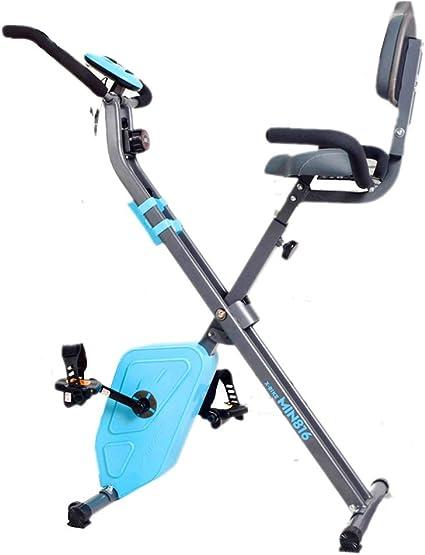 Bicicleta de ejercicios Bicicleta Giratoria Equipo De Ejercicios con Pedales para El Hogar Control Magnético para Interiores Pedal De Silencio: Amazon.es: Deportes y aire libre