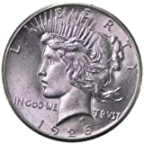 1926 D Peace Silver Dollar Uncirculated Rare MS/BU US Coin $1