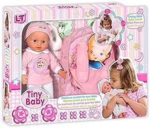 Loko Dolls 98018 Tiny Baby Baby Carrier