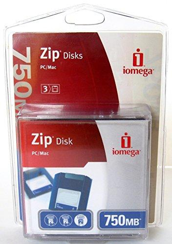 Iomega 32460 750MB Zip Disk (3