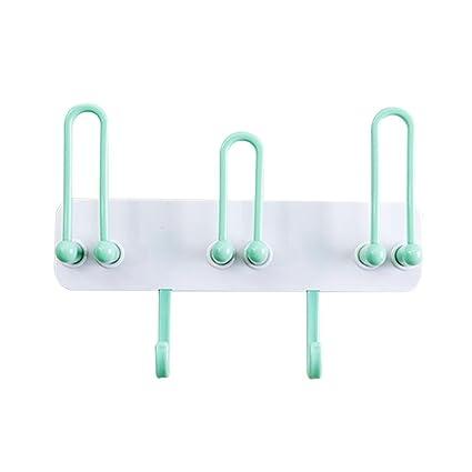 Soporte de pared para cepillos de dientes, colgador de toallas para baño, estante de